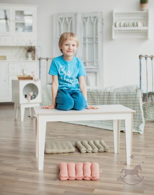Børnebord BUNCH, hvid