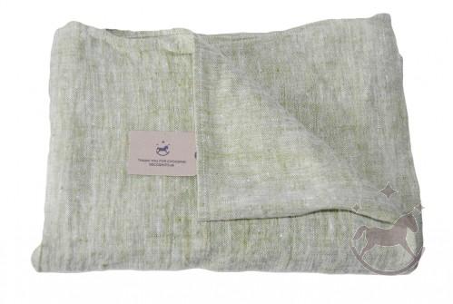 Badehåndklæde i hør, Lime