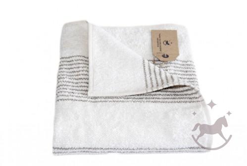 Badehåndklæde hvid
