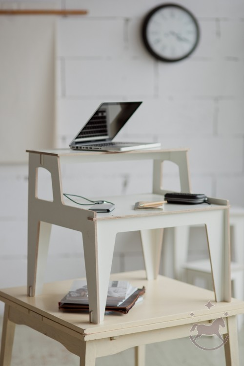 Skrivebord COMFORT, hvid