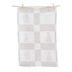 Håndklæde og gæstehåndklæde SEKS KATTE ( 3 stk).