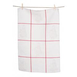 Håndklæde og gæstehåndklæde  Rødhætte ( 3 stk.)