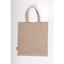 Taske i hør, grå