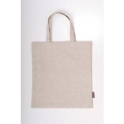 Taske i hør, hvid