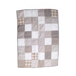 Håndlavet patchwork tæppe til børn
