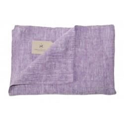 Badehåndklæde i hør, lilla