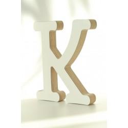 Bogstav i træ K