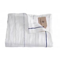 Håndklæde og gæstehåndklæde i hør,off white, Provence-M