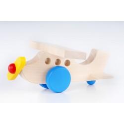 Flyvemaskine i træ