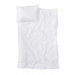Sengetøj i 100% hør, hvid ELSE