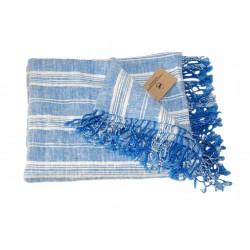 Strandhåndklæde i hør, GUSTAV