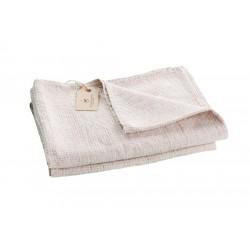 Badehåndklæde i hør, Grå
